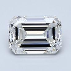 Recommended Stone #1: 1.80-Carat Emerald Cut Diamond