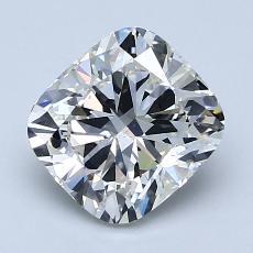 推荐宝石 4:1.86 克拉垫形钻石