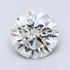1.50 Carat 圆形 Diamond 理想 J VVS2