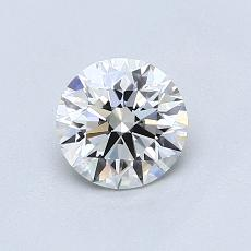 Recommended Stone #4: 0.72-Carat Round Cut