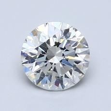 1.25 Carat 圆形 Diamond 理想 H VS2