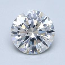 1,50-Carat Round Diamond Ideal F SI2