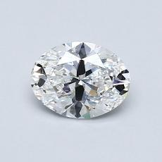 0.70-Carat Oval Diamond Very Good D VS1