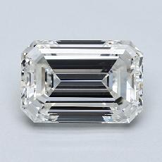 Recommended Stone #4: 2.30-Carat Emerald Cut Diamond