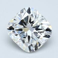 1.55-Carat Cushion Diamond Very Good F VS2