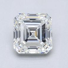 オススメの石No.1:1.30カラットアッシャーカットダイヤモンド