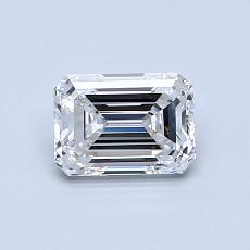 Recommended Stone #1: 0.75-Carat Emerald Cut Diamond