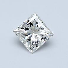 Recommended Stone #1: 0.65-Carat Princess Cut Diamond