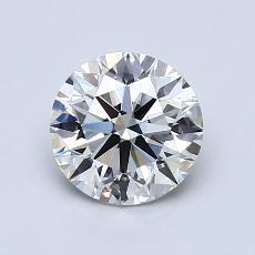 1,21 Carat Rond Diamond Idéale G VS1