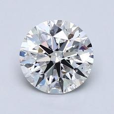 1.30 Carat 圓形 Diamond 理想 E VS2