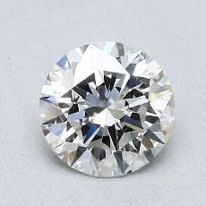 1,09-Carat Round Diamond Ideal J VVS1