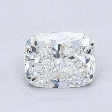 0.91-Carat Cushion Diamond Very Good F VVS1