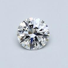 0.51-Carat Round Diamond Ideal E VS1