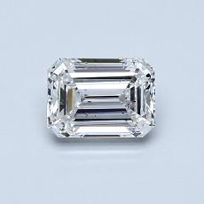 Recommended Stone #2: 0.66-Carat Emerald Cut Diamond