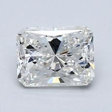 Pierre recommandée n°1: Diamant taille radiant 1,34 carats