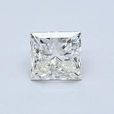Recommended Stone #1: 0.71-Carat Princess Cut Diamond