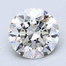 Pierre recommandée n°3: Diamant taille ronde 2,20 carat