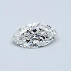 Recommended Stone #4: 0,37-Carat Marquise Cut Diamond