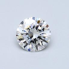 0.61 Carat 圓形 Diamond 理想 E VVS2