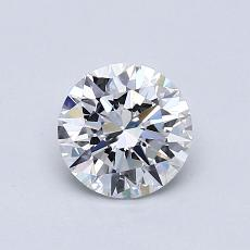 Recommended Stone #2: 0.77-Carat Round Cut Diamond