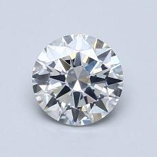 1.00 Carat 圆形 Diamond 理想 E SI2