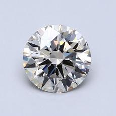 1.01-Carat Round Diamond Ideal K VS1