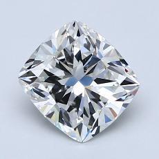 推荐宝石 3:1.70 克拉垫形钻石