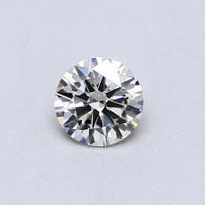Recommended Stone #4: 0.33-Carat Round Cut