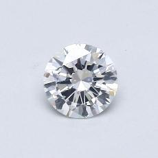 Recommended Stone #2: 0.37-Carat Round Cut Diamond