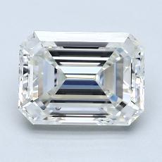 Pierre recommandée n°3: Diamant taille émeraude 2,50 carat