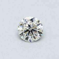 Recommended Stone #1: 0.33-Carat Round Cut Diamond