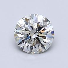 1.01 Carat 圆形 Diamond 理想 J SI1