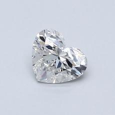 0.53 Carat 心形 Diamond 非常好 H VS2