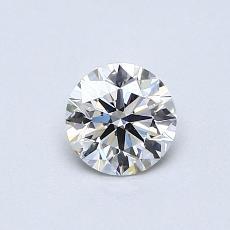 0.50 Carat 圆形 Diamond 理想 H VS1