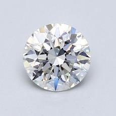 1.01-Carat Round Diamond Ideal H VVS1