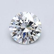 1.02 Carat Redondo Diamond Ideal F VVS2