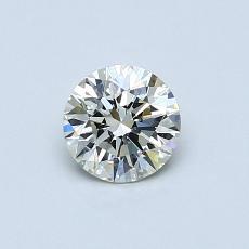 0,50 Carat Rond Diamond Idéale K SI1