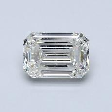 Recommended Stone #4: 0.91-Carat Emerald Cut Diamond