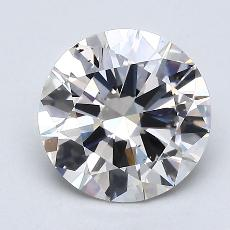 Recommended Stone #3: 1.50-Carat Round Cut Diamond