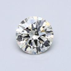 0.70-Carat Round Diamond Ideal K SI2