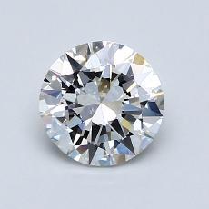 1.00 Carat 圆形 Diamond 非常好 E VS1