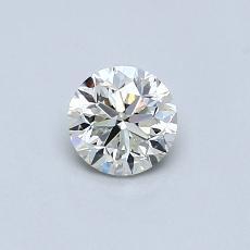 推薦鑽石 #3: 0.46 克拉圓形切割鑽石