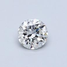 0,50-Carat Round Diamond Good G VS1