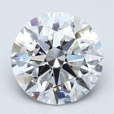 Recommended Stone #3: 2.61-Carat Round Cut