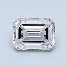 推荐宝石 3:1.29 克拉祖母绿切割钻石