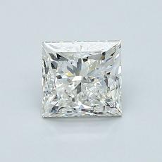 1,01 Carat Princesse Diamond Très bonne J VS2