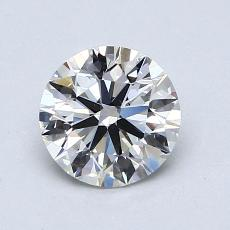 1.00-Carat Round Diamond Ideal I VVS1