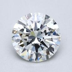 1.20 Carat Redondo Diamond Ideal G VVS2