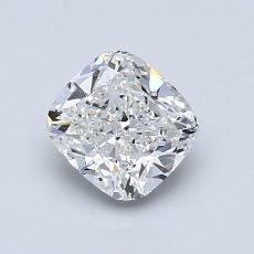1.04-Carat Cushion Diamond Very Good F VS1