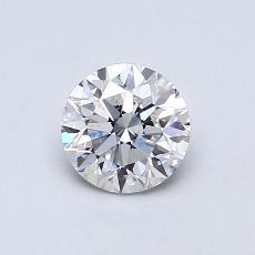 オススメの石No.1:0.70カラットラウンドカットダイヤモンド